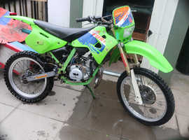 motorhispania furia with AM6 Engine newlly built 70cc