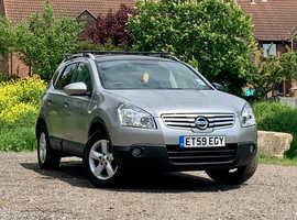 Nissan Qashqai, 2010 (59) silver Hatchback, Manual Diesel, 88934 miles