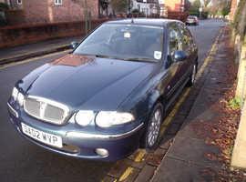 Rover 45, 2002 (02) ONLY  79,650 miles MOT 11/12/20