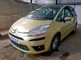 Citroen C4, 2007 (57) Gold Estate, Manual Diesel, 96,168 miles