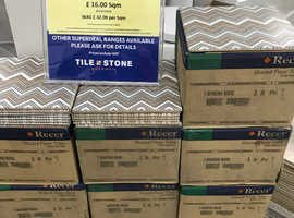 FLOOR & WALL TILES 200x200x6mm 4* RATED ( JANUS WAVE) ALL SAME BATCH & CALIBRE - Clearance price