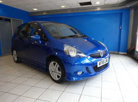 Honda Jazz, 2005 (55) Blue Hatchback, Manual Petrol, 48,790 miles