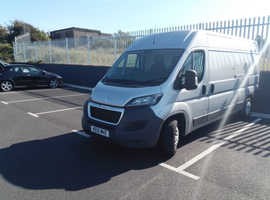 2015Peugeot professional model L3 H2' long wheelbase,high top silver van,2sliding doors.  130 bhp . No vat.