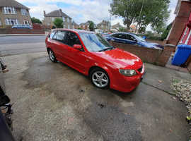 Mazda 323, 2003 (53) Red Sports, Manual Petrol, 94,495 miles