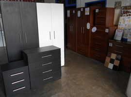 COMPLETE BASIC STORAGE FURNITURE PACKAGE 2 - REDUCED EXTRA 24% NOW SAVE £88.00