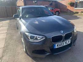 BMW 1 series, 2013 (13) Grey Hatchback, Manual Petrol, 38,000 miles
