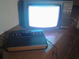 Atari 2600 woody vintage games console