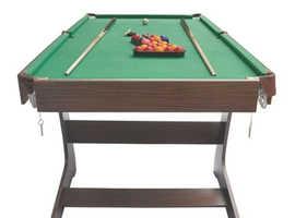 6ft Folding Billiard & Snooker Table