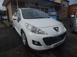 Peugeot 207 Active , 2011 (11) White 5 Dr Hatchback, Part ex welcome