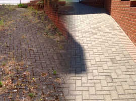 Pressure Washing driveway & patios