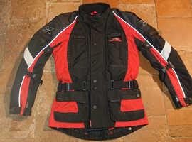 Ladies IXS Motorbike Jacket.
