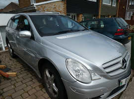 Mercedes R Class, 2008 (08) Silver Estate, Automatic Diesel, 89,000 miles