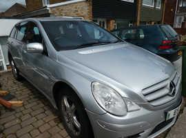 Mercedes R Class, 2008 (08) Silver Estate, Automatic Diesel Sport, 89,000 miles