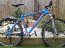 Mountain Bike  Front Suspension 18 inch Frame 26 Inch Wheels 1x9 Wide Range Speed
