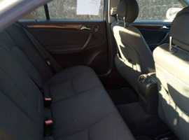 Mercedes C CLASS, 2004 (54) Silver Saloon, Automatic Diesel, 149,060 miles