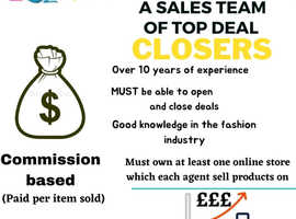 Looking for 140+ sales agents (commission based)