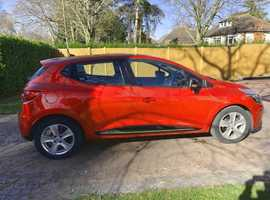 Renault Clio, 2013 (63) Red Hatchback, Manual Diesel, 18,800 miles
