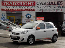Nissan Micra, 2013 (63) White Hatchback, Manual Petrol, 62,189 miles