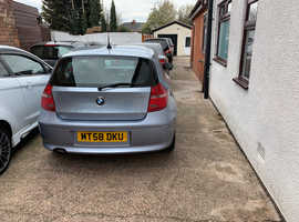 BMW 1 series, 2008 (58) Blue Hatchback, Manual Petrol, 130,000 miles