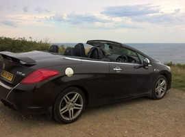 Peugeot 308, 2009 (09) Brown Convertible, Manual Diesel, 108,000 miles