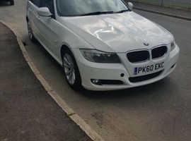 BMW 3 Series, 2010 (60) White Estate, Manual Diesel, 161,079 miles