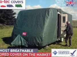 Top class Pro-tec caravan cover for sale