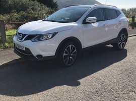 Nissan Qashqai, 2016 (66) White Hatchback, Cvt Petrol, 26,000 miles