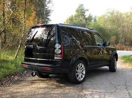 Land Rover Discovery 4, 2015 (65) Black Land Mark spec