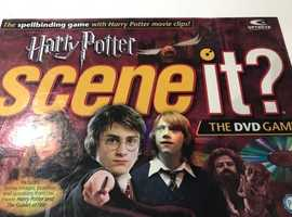 HARRY POTTER SCENE IT board and DVD game