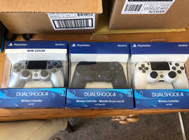 PlayStation 4 controllers brand new sealed