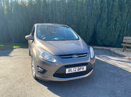 Ford C-Max, 2012 (12) Brown MPV, Manual Petrol, 49,300 miles