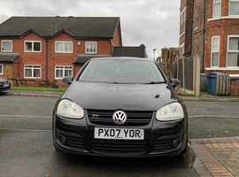 Volkswagen Golf, 2007 (07) Black Hatchback, Manual Diesel, 91,769 miles