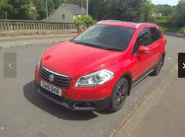 Suzuki SX4 S-CROSS, 2015 (15) Red Hatchback, Manual Diesel, 44,350 miles