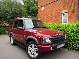 """2003 03 REG Land Rover Discovery 2 2.5 TD5 XS 5dr (7 Seats) """" 4X4 """" HPI CLEAR """""""