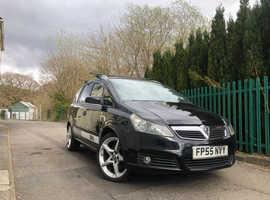Vauxhall Zafira, 2006 (55) Black MPV, Manual Petrol, 82,369 miles