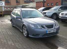 Saab 9-3, 2007 (57) Grey Estate, Manual Diesel, 243,472 miles