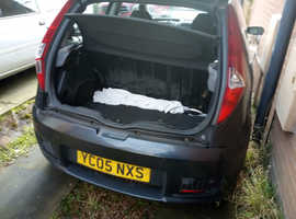 Fiat Punto, 2005 (05) Black Hatchback, Manual Petrol, 52,958 miles