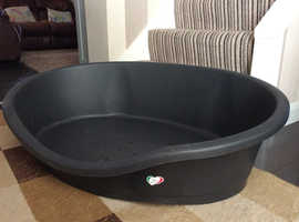 Large Plastic dog bed