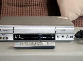 LG VHS Video Recorder 6 Head VCR