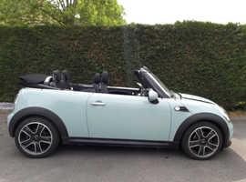 Mini Convertible, 2012 (12) blue convertible, Manual Petrol, 51000 miles