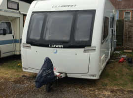 Lunar clubman ES luxury 4 berth tourer