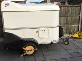 Ifor Williams BV64e Small lightweight easy to tow box van trailer