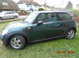 MINI, 2007 (57) Green Hatchback, Manual Petrol, 147,565 miles