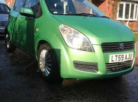 Suzuki Splash, 2009 (59) Green Hatchback, Manual Petrol, 76,760 miles