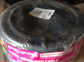 Prysmian 3 core armoured cable