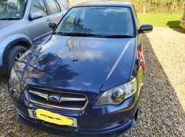 Subaru Legacy, 2005 (55) blue saloon, Manual Petrol, 59,000 miles