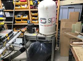 SIP chip/dust extractor 240v