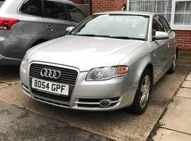 Audi A4, 2005 (54) Silver Saloon, Manual Diesel, 200,000 miles