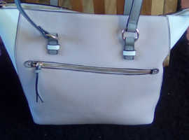 Accessories pink/white handbag