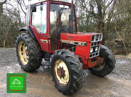 INTERNATIONAL 885XL ALLW ORKING CHEAP 4X4 TRACTOR SEE VIDEO CAN DELIVER NO VAT